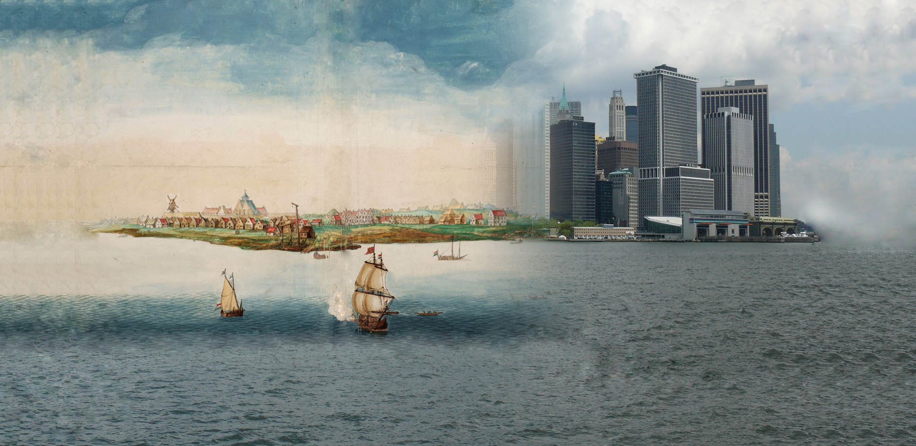 Welcome to <br> the New Amsterdam History Center